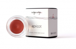 Uoga Uoga Apricot natural lip and cheek colour